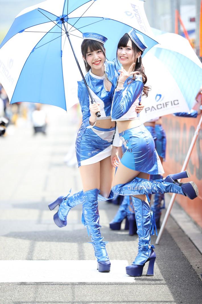 くるす蘭さん、葉月蓮さん(2019 Pacific Fairies)