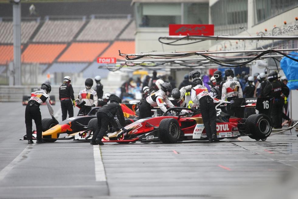 荒天に見舞われた予選。タイヤ交換が鍵を握る スーパーフォーミュラ第2戦