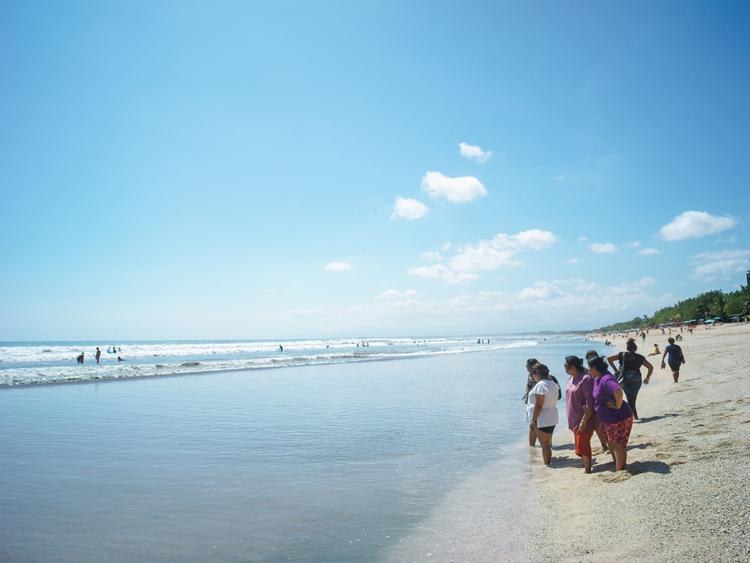 インドネシアのバリ島のビーチ