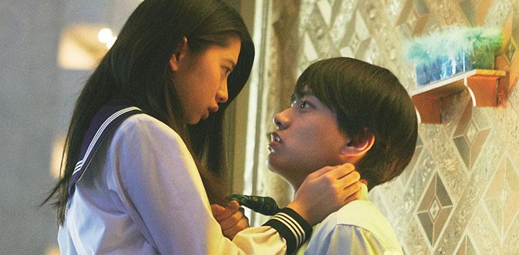 八木すばる(上村海成・右)と初の妹、茜(桜田ひより)