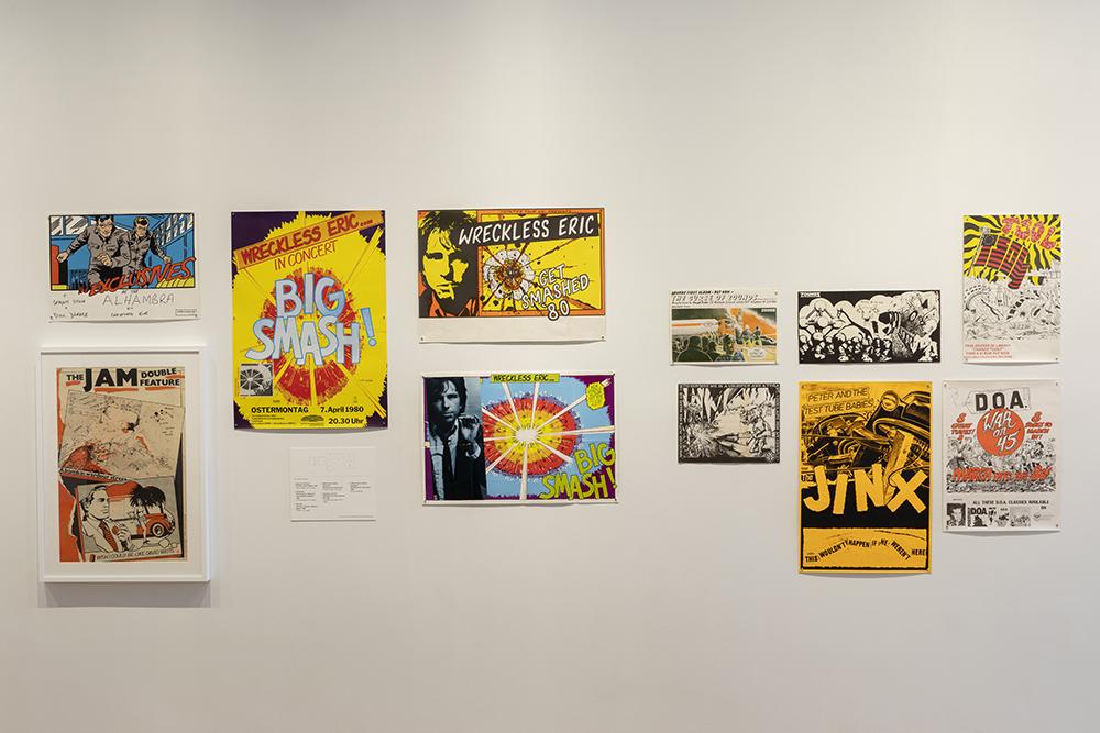 希少なグラフィックアートがずらり NYの「パンク」展覧会