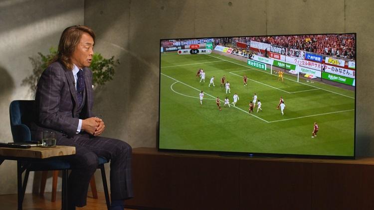 「大画面でその場にいるかのように試合が見られることが大事」 サッカー元日本代表・北澤豪さん