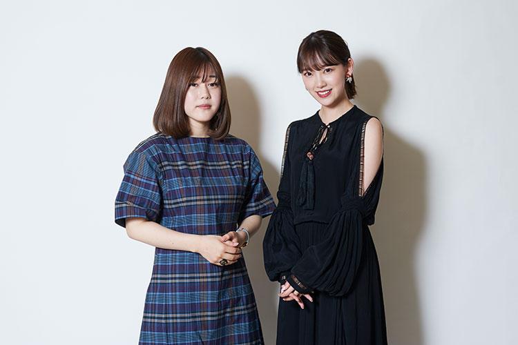 山戸結希監督と堀未央奈さん