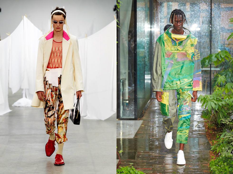 新世代、繊細な輝き 社会への視線 2020年春夏、ロンドン・メンズ