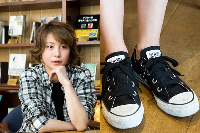 履ける時期は短い、でも履きたい。田中美保さんの札幌スニーカーライフ