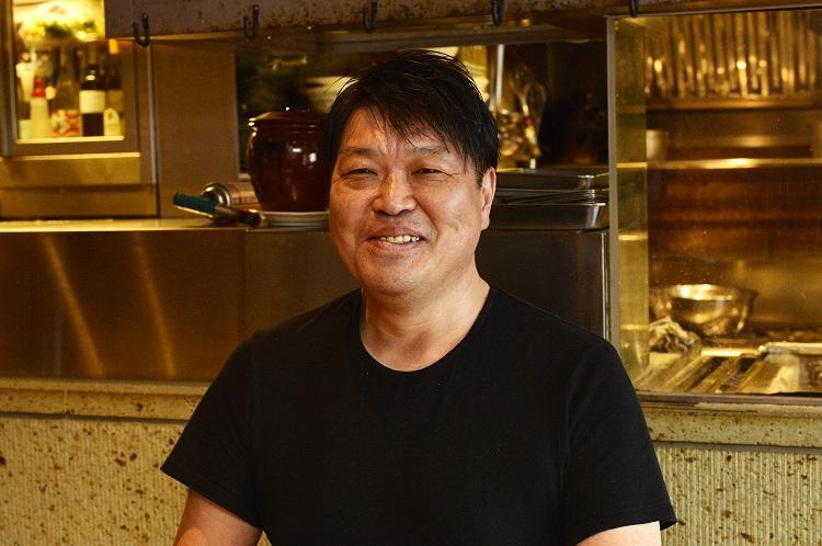 あわいの創業時より料理長をつとめる内海竜也さん