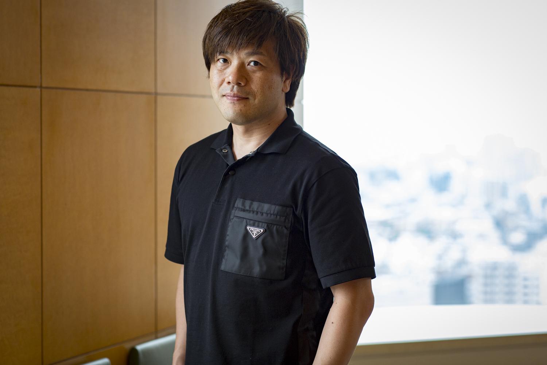 平野啓一郎さんのポートレート写真