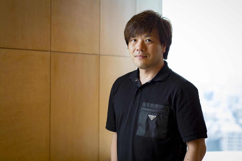 平野啓一郎さんのインタビューカット