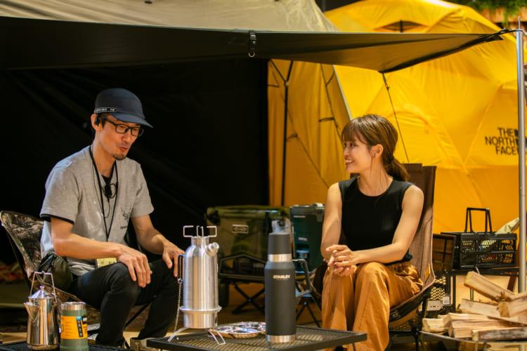 松島信理さん(左)と山城さくらさん(右)