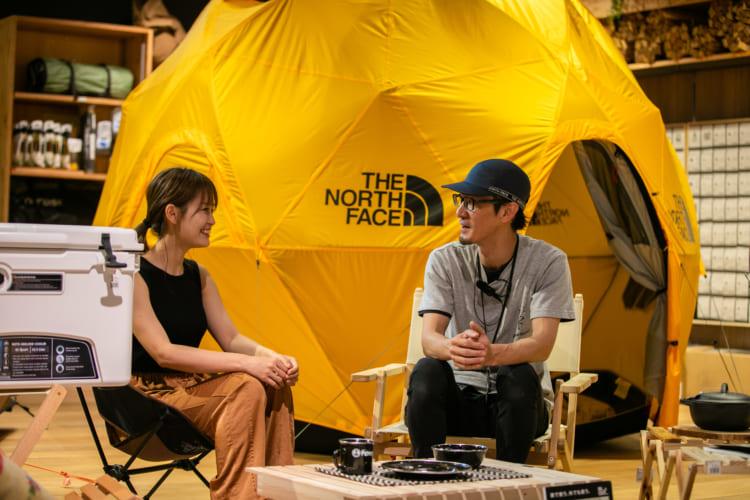 キャンプブーム、昔はなかった白テント・黒テントが人気 アルペンマウンテンズに聞く