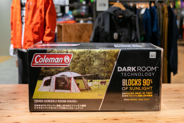 Coleman / タフスクリーン2ルームハウス+(価格:72,546円+TAX)