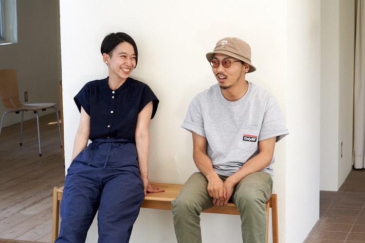 田我流さんと西加奈子さん