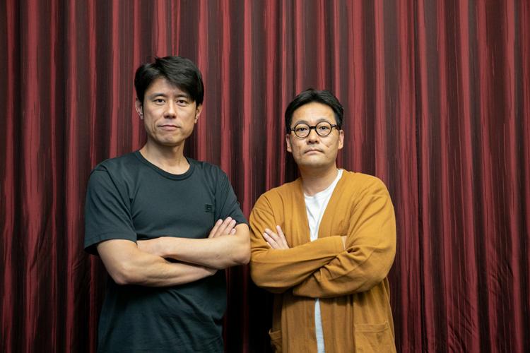 原田泰造さんとコトブキツカサさん