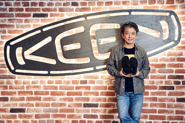 キーン・ジャパン合同会社のブランドディレクター・高木さん。2004年の日本上陸からキーンにかかわっている