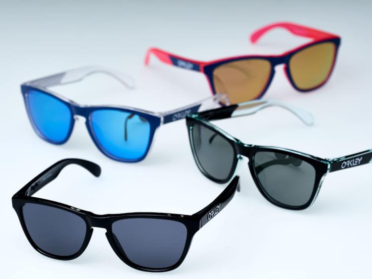 オークリーのサングラス、スポーツ用アイウェアで培った機能とカジュアルなデザイン
