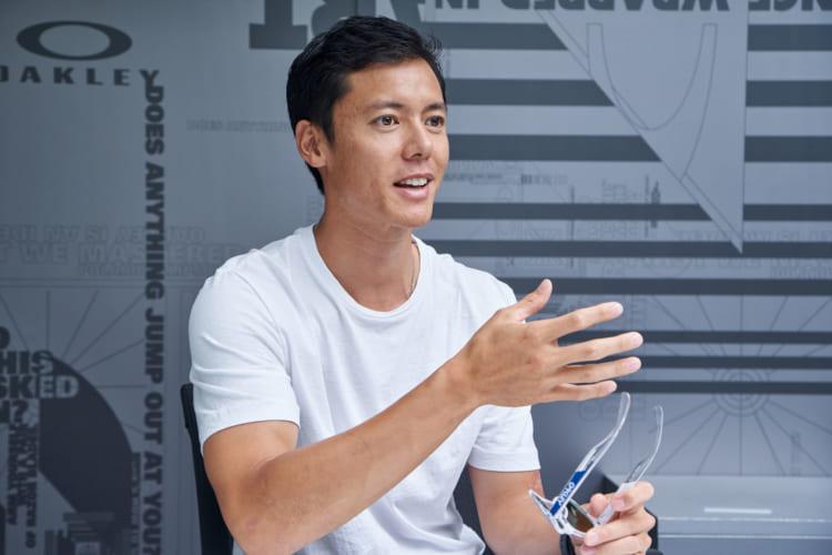 永田さんは全日本マウンテンバイク選手権大会での優勝経験を持つ、国内トップレベルのMTBライダーでもある