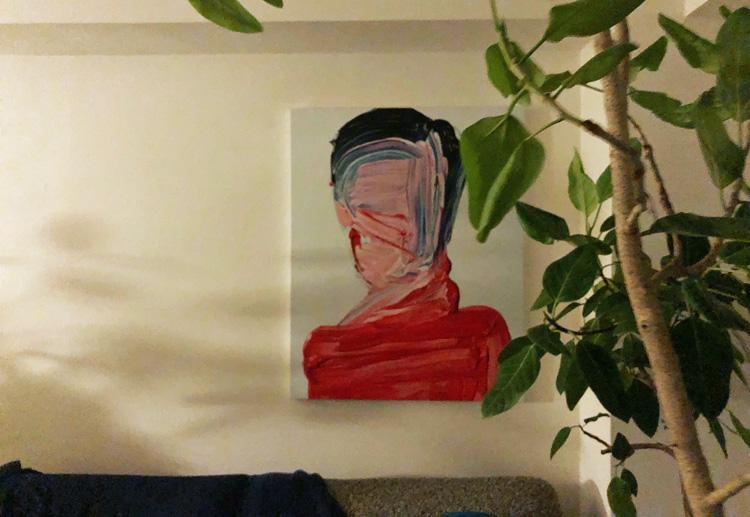 我が家で応援している山形出身の武田鉄平さんの絵。