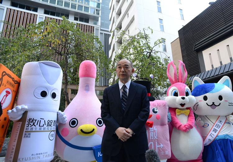 健康のカギを握る「OTC医薬品」とは? 日本橋で啓発イベント