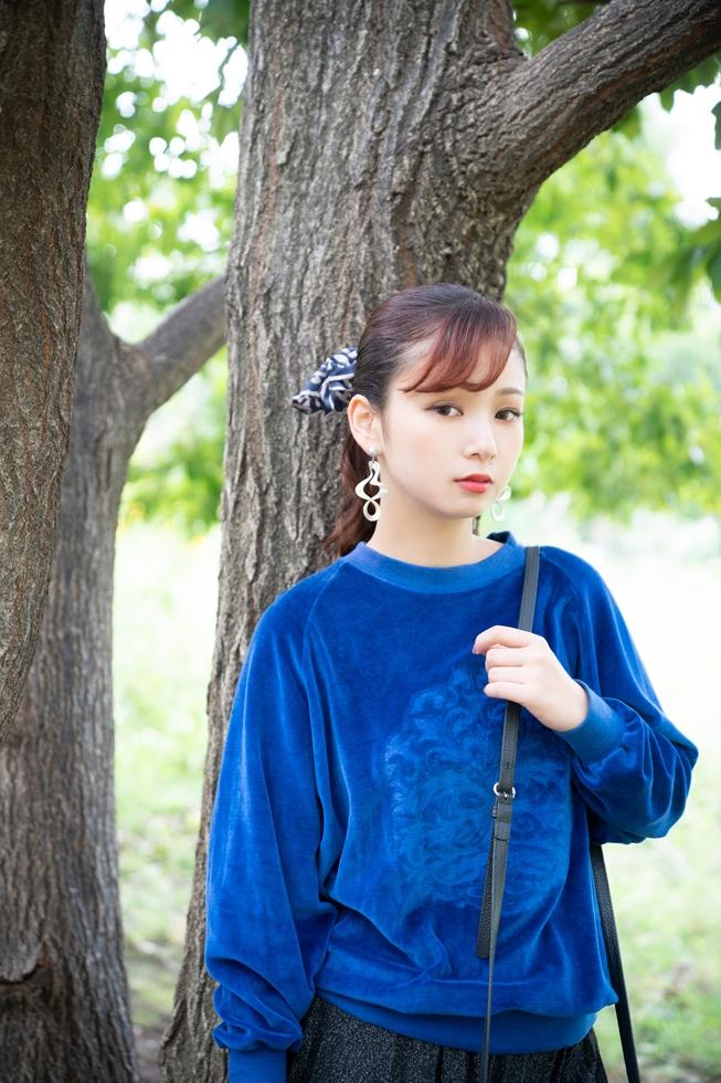 まっすぐな瞳が印象的なアクター 福澤奈菜さんと中目黒を散歩する