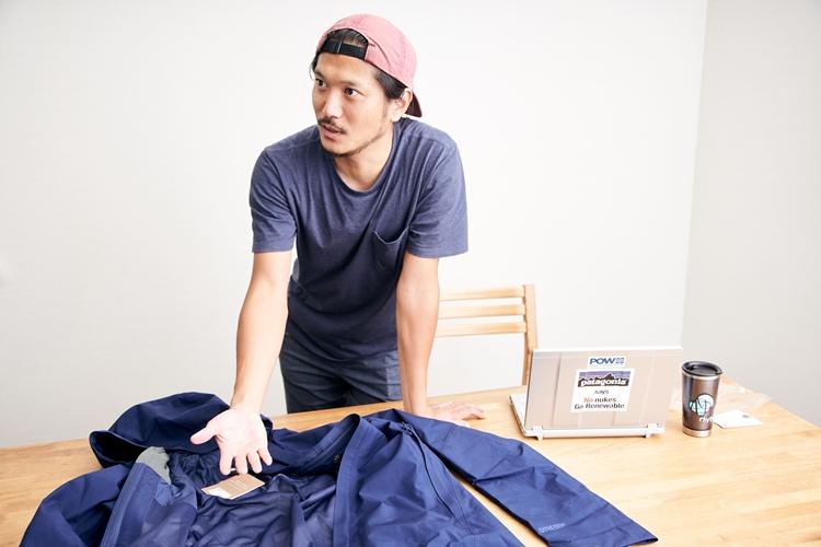 パタゴニアでスノーカテゴリーのマーケティングを担当する内野宗一郎さんは、自身も熱心なスノーボーダー