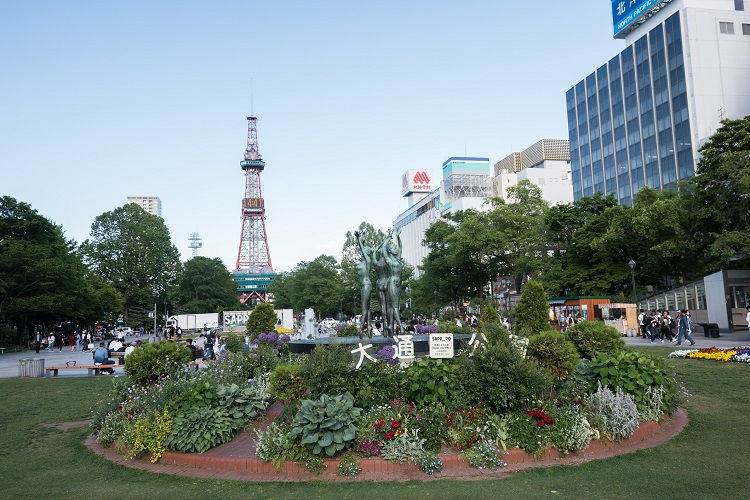 札幌の大通公園(axz66 / Getty Images)