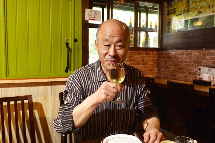 毎日ザ・タージで小さな外国旅行気分を楽しんでいる鈴木さん