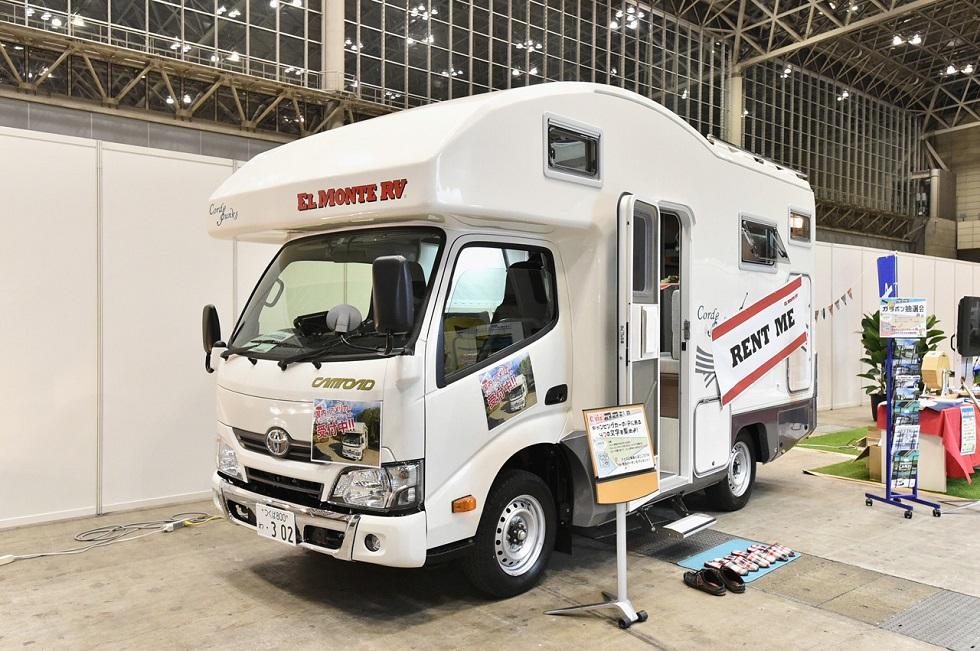 東京オリンピックに向けて、レンタルキャンピングカーの争奪戦はもう始まっている!