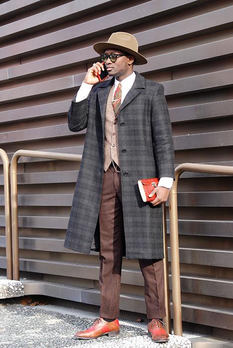 イタリアだて男の「エコ流儀」 ピッティ・イマージネ・ウオモ97 会場リポート & おしゃれな紳士たちを写真で