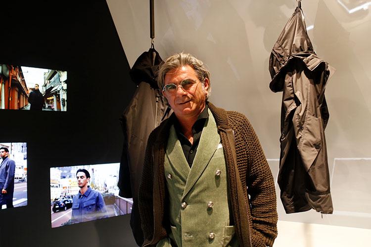 相澤陽介とのコラボレーションで新たなフィールドを提示したラルディーニの創業者兼クリエーティブ・ディレクター、ルイージ・ラルディーニ氏