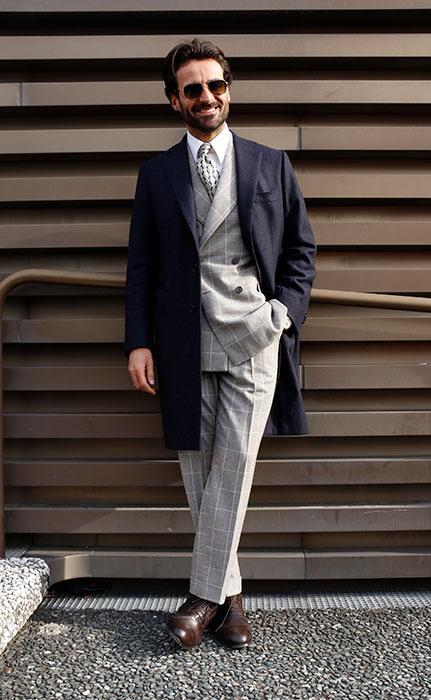 イタリア人ファッション・インフルエンサー、ジョルジョ・ジャンジューリオ氏
