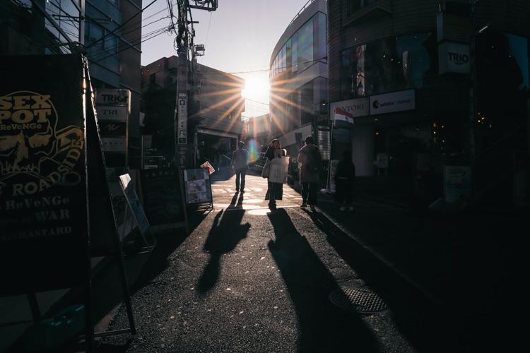 原宿の坂道