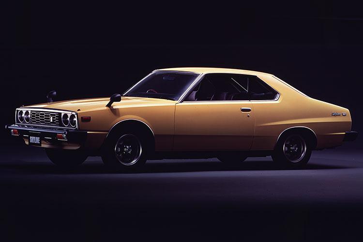 77年の2ドアハードトップ2000 GT-E・Xタイプ