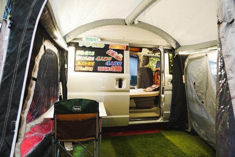 テント派ビギナーも楽しめた「ジャパンキャンピングカーショー」
