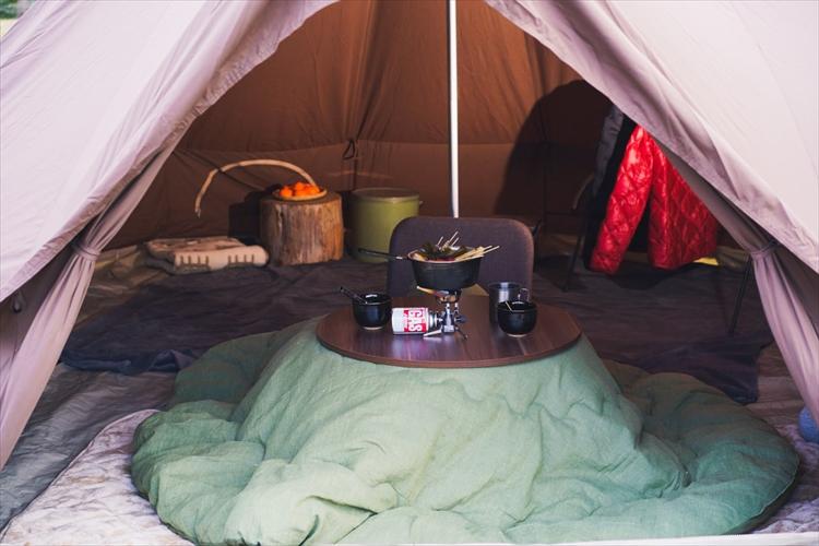 【冬キャンプのすすめvol.2】アウトドアでもコタツにおでんでぐーたらキャンプを