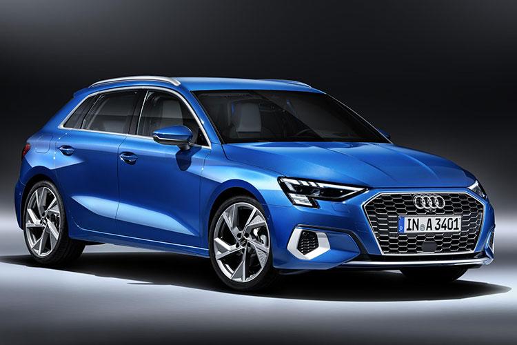 今回公開された「アウディA3スポーツバック」は全長4.3メートルとコンパクトだけれど迫力満点(Audi)