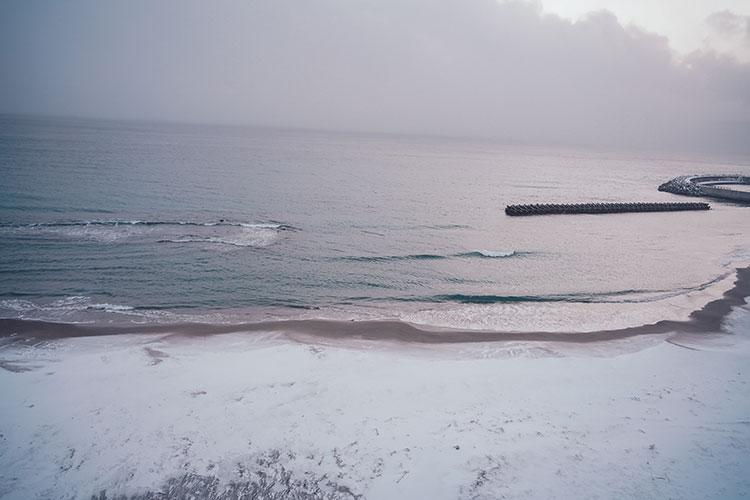 極寒の中で撮影した津軽海峡冬景色 初めて訪れた冬の函館