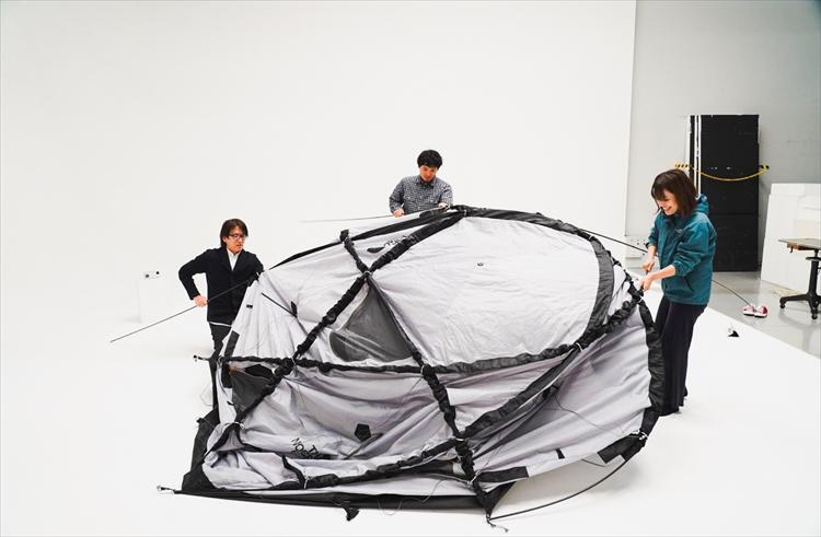 まさに建築美―― THE NORTH FACE開発担当者に聞くGeodome4®の設営方法とこだわり