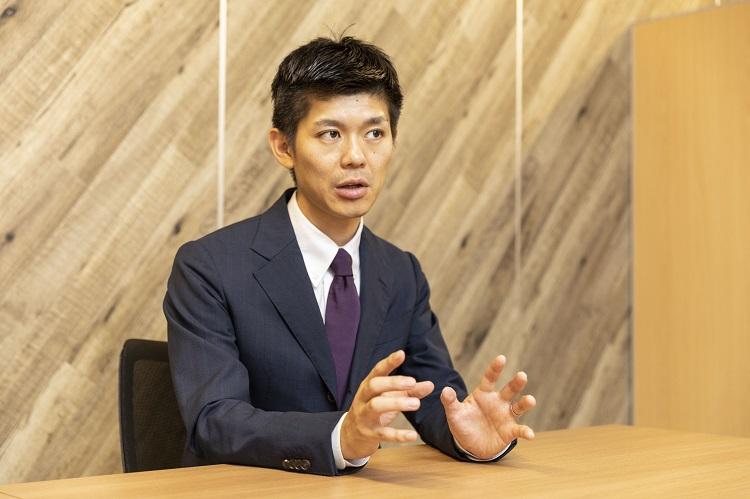 ニューロスペース代表取締役社長の小林孝徳さん。サラリーマン時代は睡眠障害に陥ったことをきっかけに睡眠事業に関心をもつようになり、ニューロスペースを立ち上げた