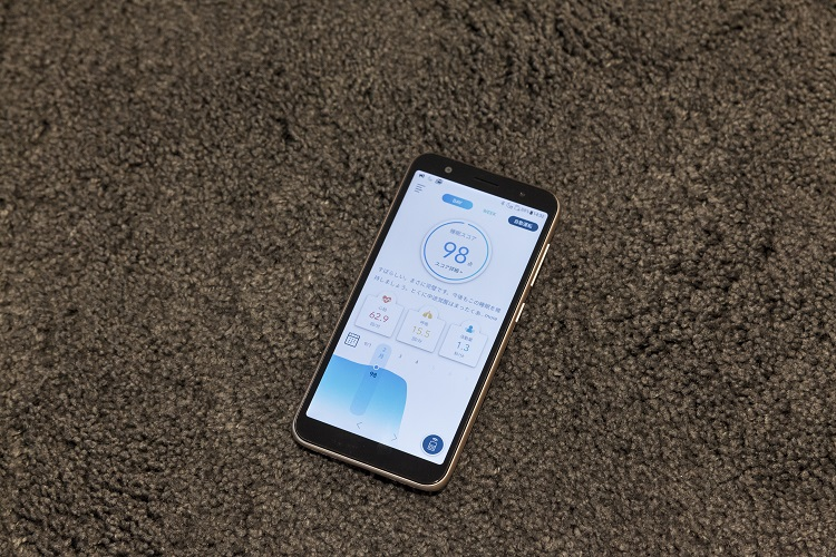 専用アプリ「Active Sleep App」は、ベッドやマットレスのリモコンとして使えるほか、睡眠中のデータを分析し、その日の眠りや日々のデータをもとに算出した週ごとのスコアも出してくれる
