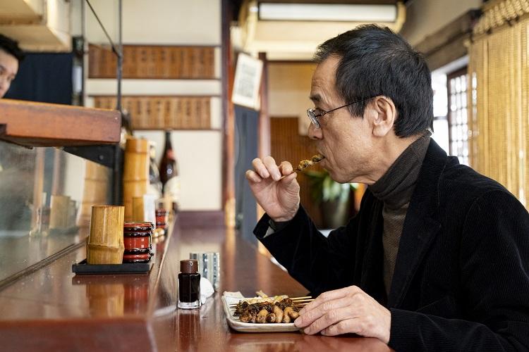 「目の前で焼きたてが食べられるのがいいよね」と大山さん