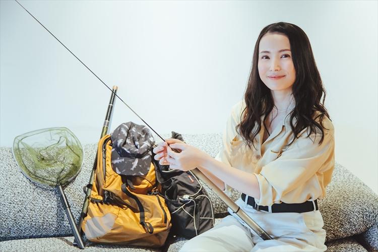 美村里江「上達に必要なのは、一流の人に学び、120%の努力をすること」渓流釣りと俳優業に通ずる、スキルアップの極意