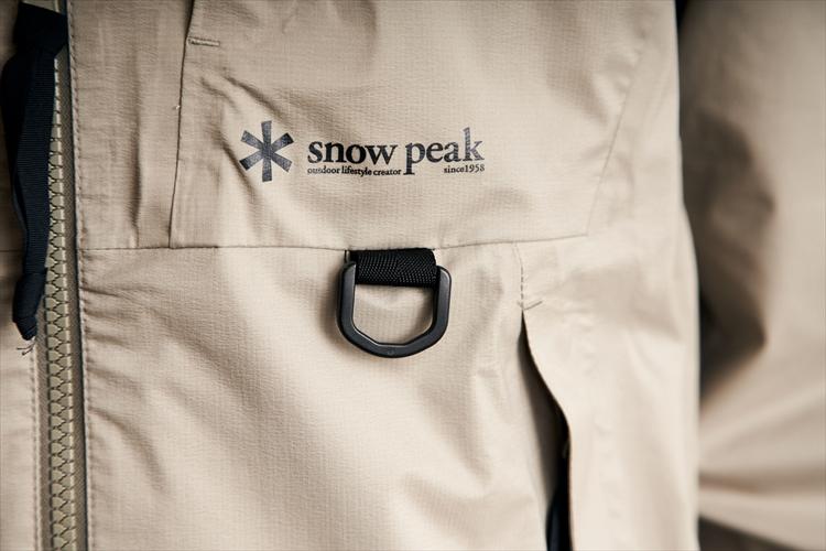 【フォトギャラリー】スノーピーク社員の定番 とにかく蒸れない防水シェル「ワンダーラストジャケット」