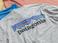 パタゴニアの夏用ハイテクTシャツ 汗も雨も洗濯後もすぐ乾く