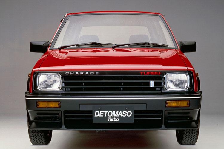 伊ブランドの自動車パーツが魅力 ダイハツ・シャレード「デトマソ・ターボ」