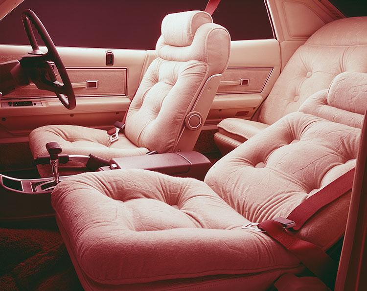 4ドアハードトップ2800ブロアムのフロントシート