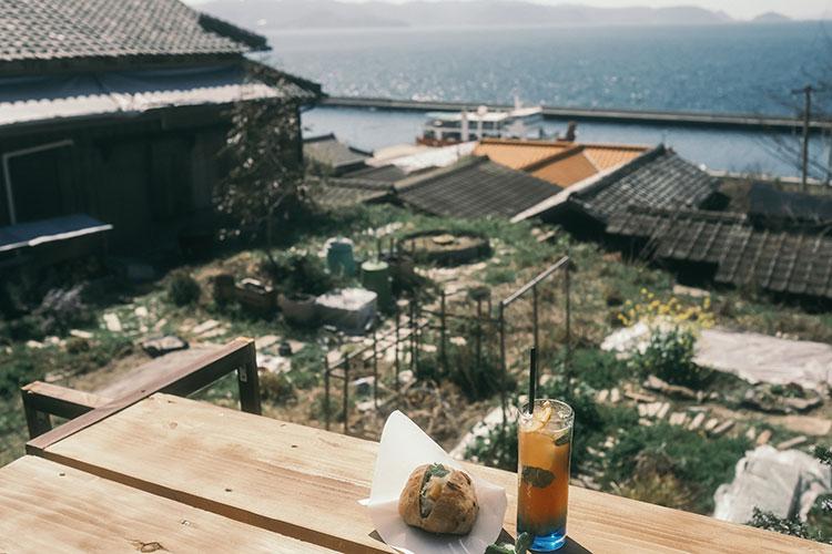 象と太陽社で食と景色を楽しむ