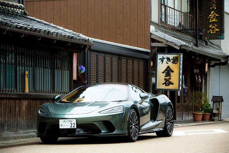 長距離ドライブも快適 マクラーレンGT試乗で三重・賢島へ 伊賀上野「金谷」の伊賀牛食レポも