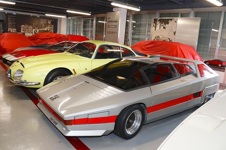 幻の未発売車が次々と 伊・アルファロメオ博物館のバックヤードツアー