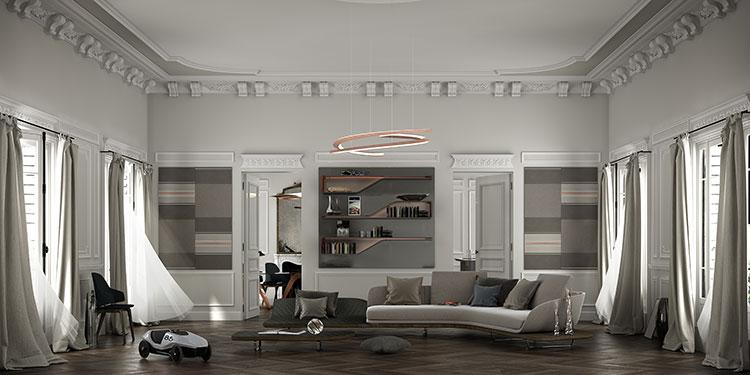 ピニンファリーナは、自動車の傍らで家具メーカーにも積極的にデザインを提供してきた