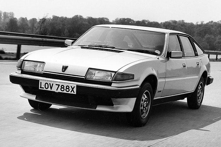 斬新なデザインで新しい高級車像を追求した 英ローバー「SD1」